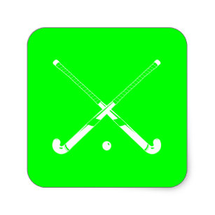 307x307 Field Hockey Stick Stickers