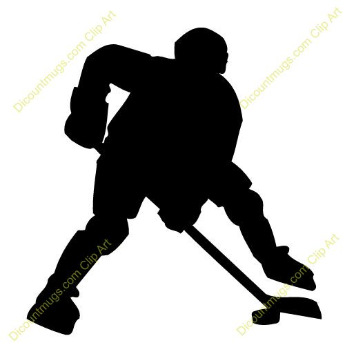500x500 Hockey Card Clipart