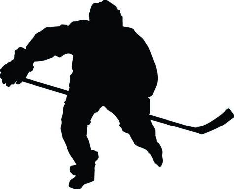 475x384 Hockey Silhouette