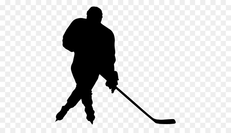 900x520 Silhouette Ice Hockey Sport