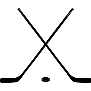 hockey sticks silhouette at getdrawings com free for personal use rh getdrawings com hockey stick puck clipart crossed hockey sticks clipart
