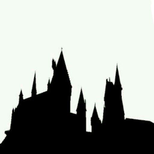 Hogwarts Castle Silhouette