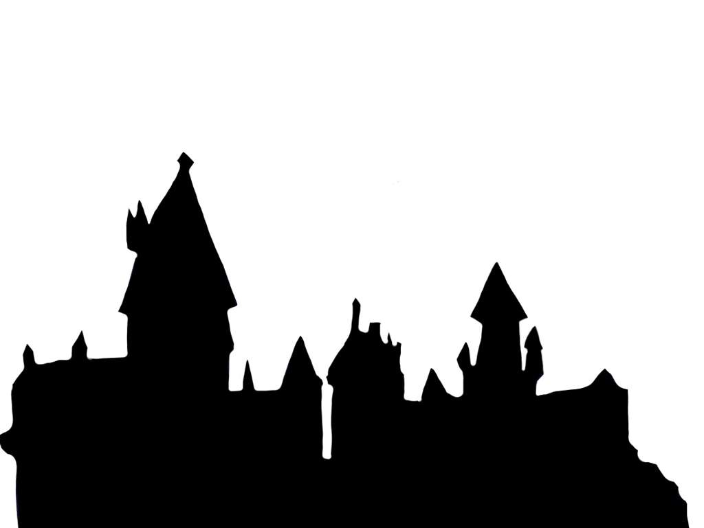 Hogwarts Silhouette at...