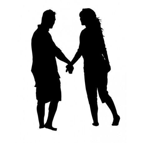 458x458 Holding Hands Silhouette Awesome Silhouettes