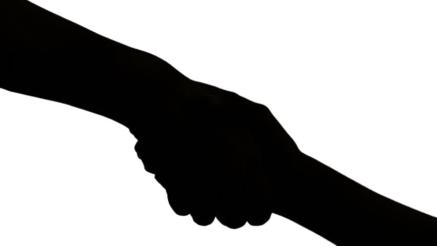 852x480 Requiring Both Hand Silhouette Stock Footage Video 22377946