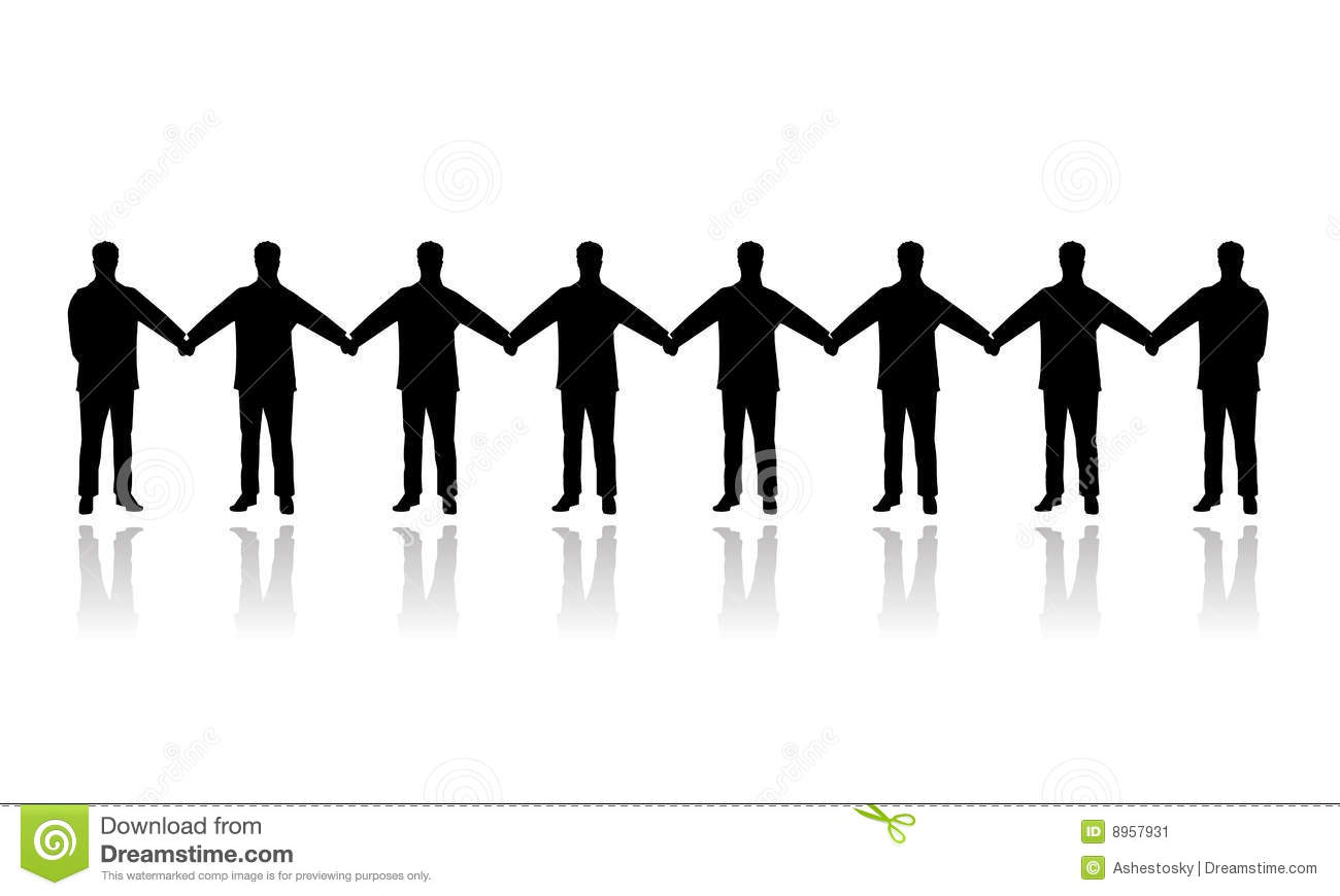 1300x870 Silhouette People Holding Hand Clipart