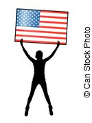 134x178 Independence Day United States. Concept Holiday . Clip Art