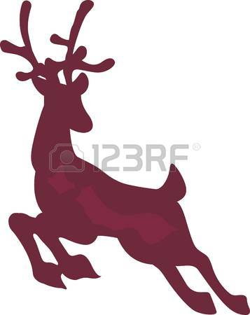 357x450 Blitzen Silhouette Clipart Collection