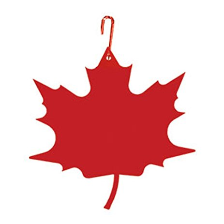 463x463 Iron Red Maple Leaf Christmas Decoration Hanging