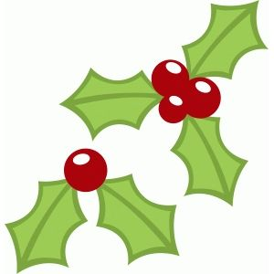 300x300 Christmas Holly Berries Holly Berries, Silhouette Design And Berries