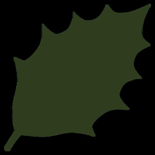 500x500 Leaf Silhouette Vector Public Domain Vectors