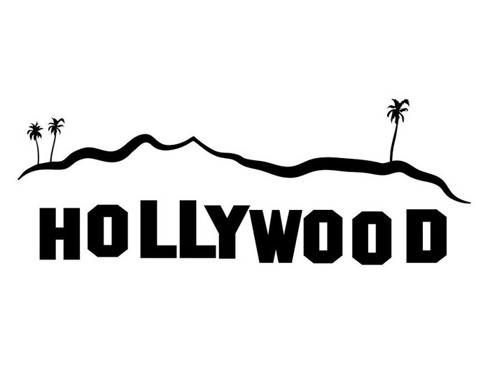 690x526 Hollywood Sign Los Angeles Graphics Design By Vectordesign On Zibbet