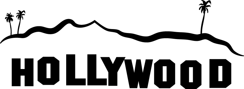 800x294 Hollywood Clipart Group