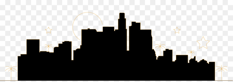 900x320 Hollywood Skyline Silhouette