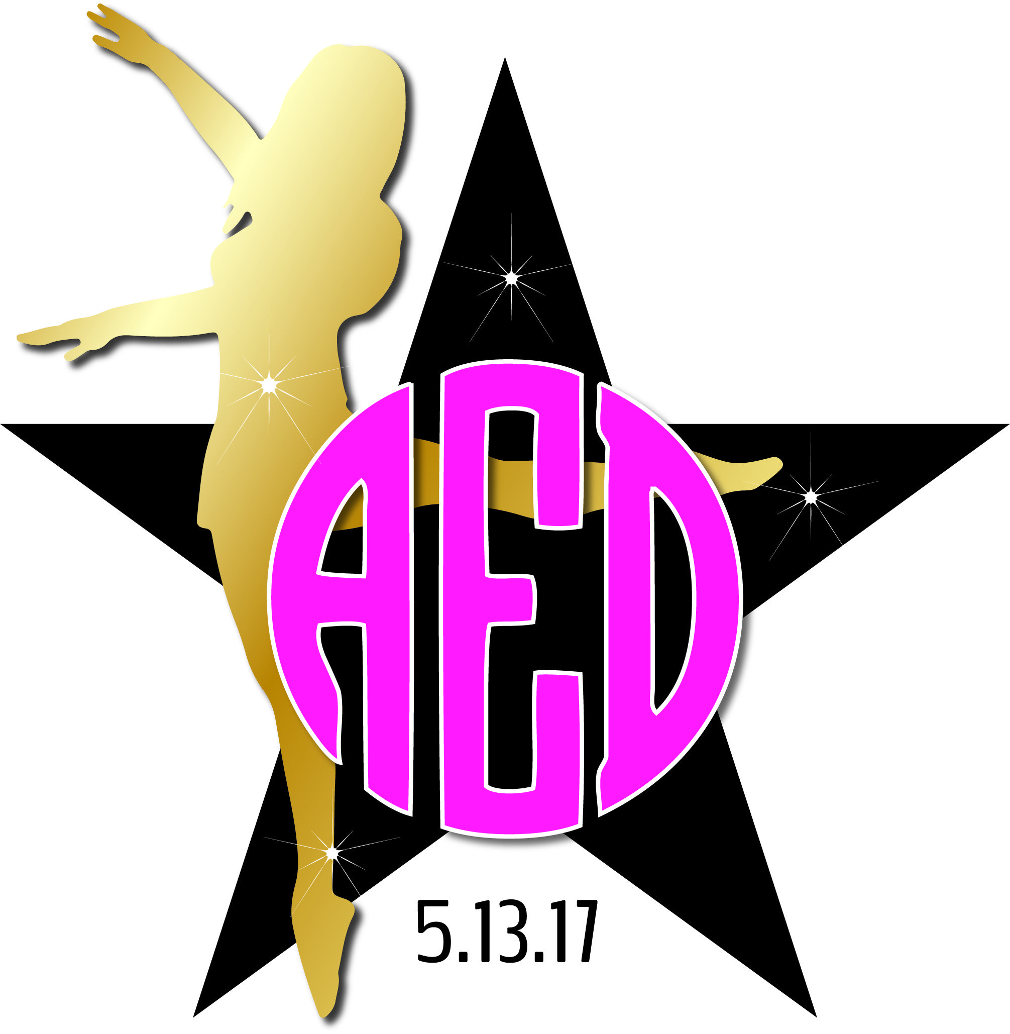 2011x2058 Another Dance Logo .this Time With A Hollywood Star, Initials