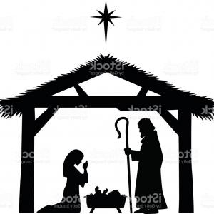 300x300 Cartoon Nativity Scene With Holy Family Gm Arenawp