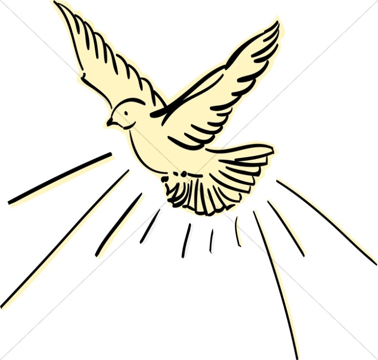 Holy Spirit Dove Silhouette At Getdrawings Free For Personal