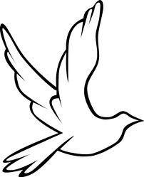 202x249 Holy Spirit Dove Outline