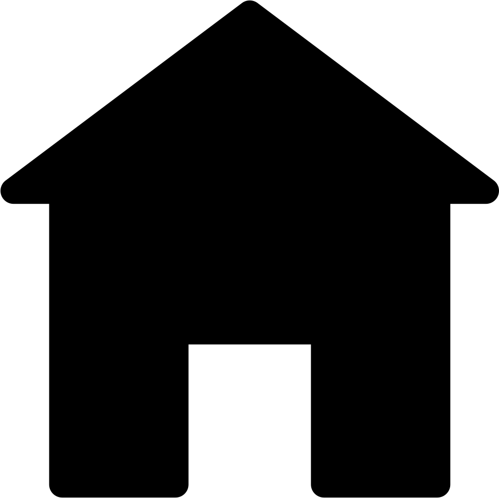 981x980 Home Silhouette Svg Png Icon Free Download ( 67150