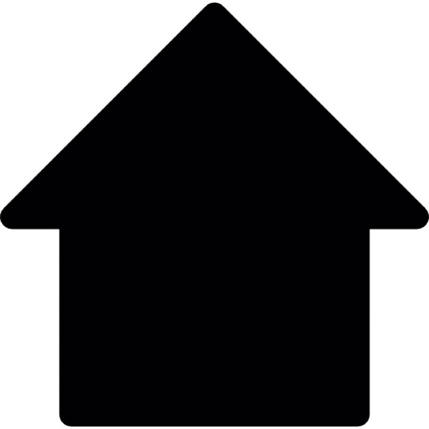 626x626 House Silhouette Icons Free Download