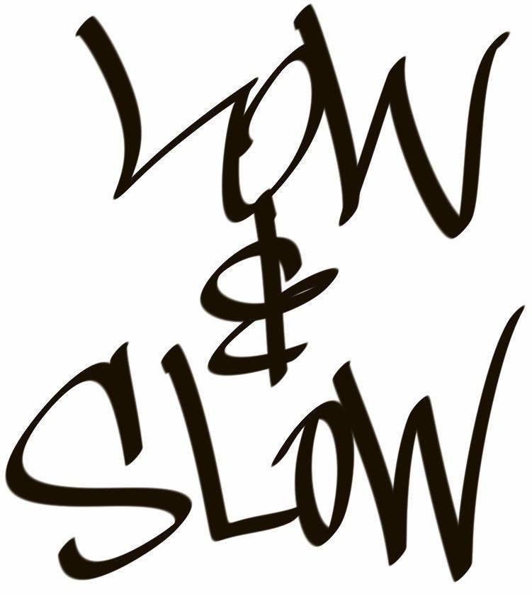 751x838 Low Amp Slow Hand Style Graffiti Jdm Racing Die Cut Vinyl Sticker