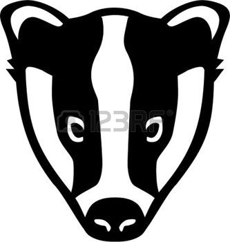 333x350 Badger Stock Vector Illustration And Royalty Free Badger Clipart