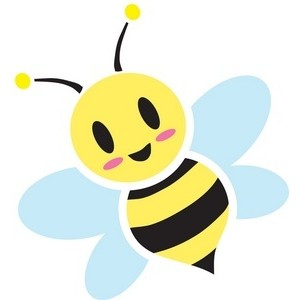 300x300 Bumble Bee Silhouette Clipart