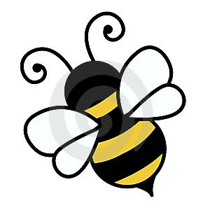 300x300 Free Cute Bee Clip Art An Illustration Of A Cute Bee Free