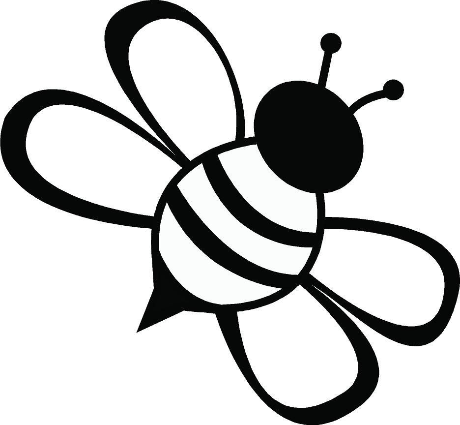 Honeybee Silhouette at GetDrawings.com | Free for personal use ...