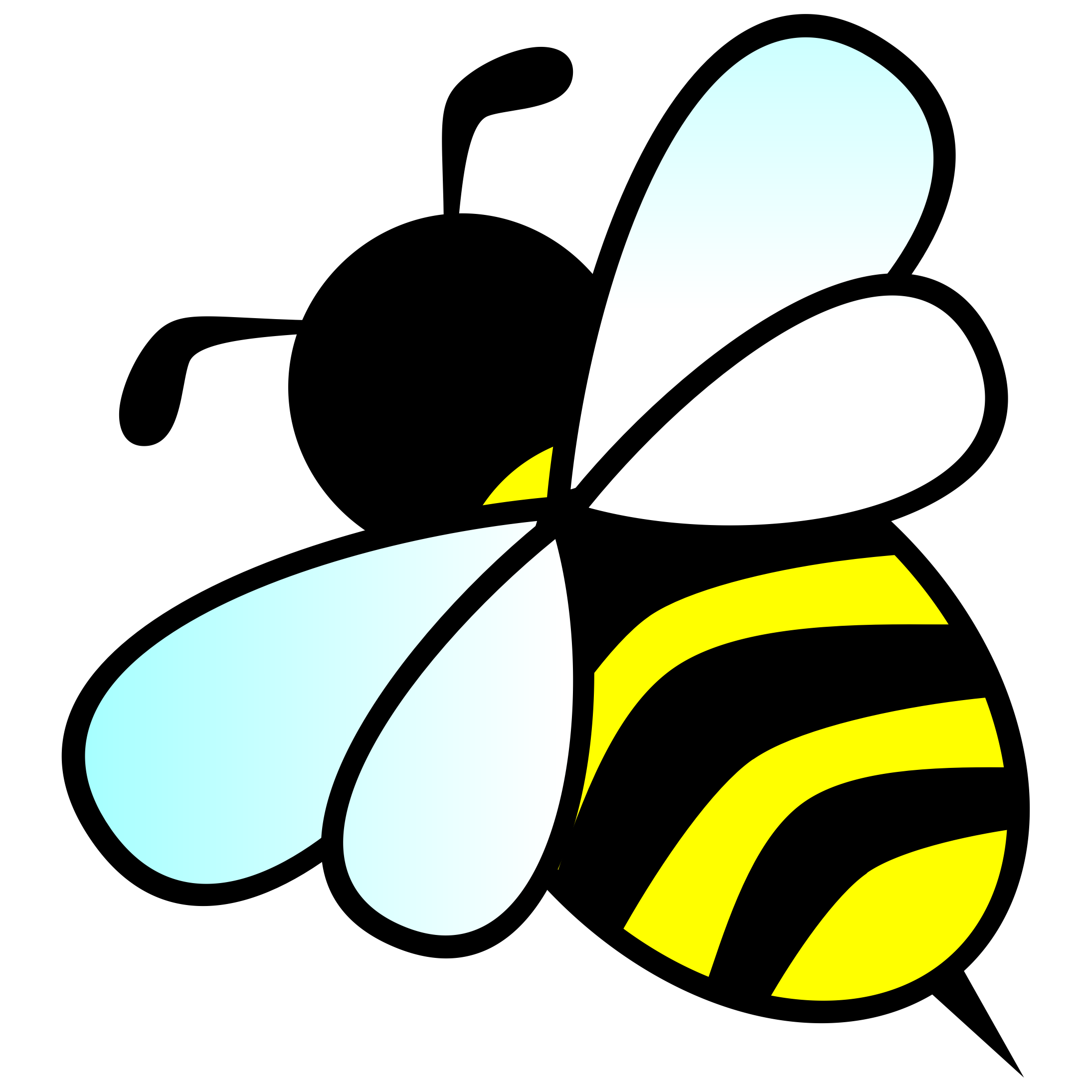 2190x2190 Bee By @anarres, A Bee