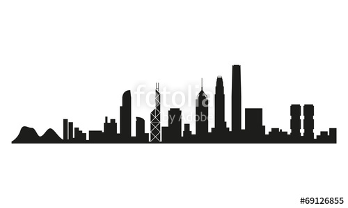 500x300 Skyline Hong Kong Stockfotos Und Lizenzfreie Vektoren Auf Fotolia
