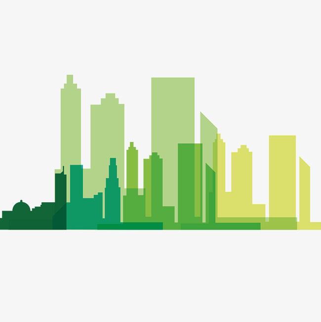 650x651 Small Fresh Green Building In Hong Kong, Vector Diagram, Hong Kong