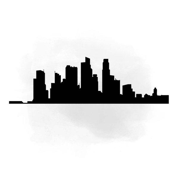 570x609 City Skyline Singapore Svg Clipart International City Digital