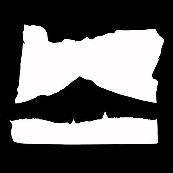 570x570 Mt Hood Oregon Vinyl Decal