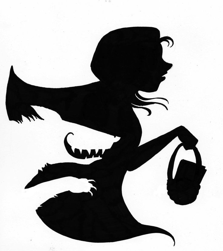 736x831 Alice Tea Party Silhouette