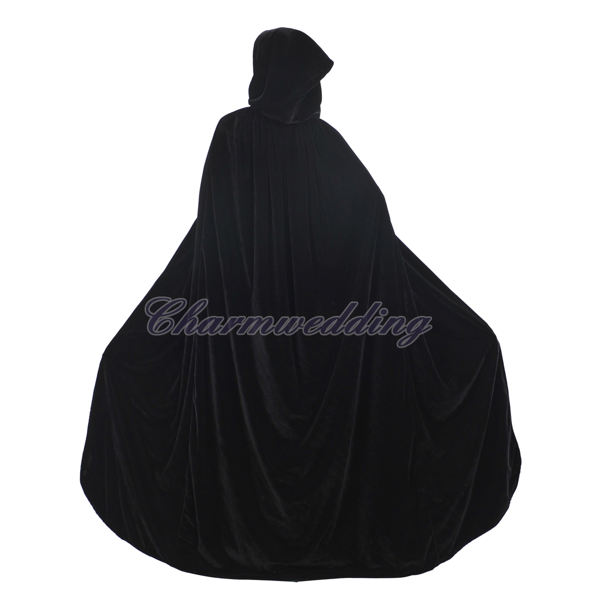 1200x1200 Gothic Velvet Hooded Cloaks Medieval Witch Wicca Halloween