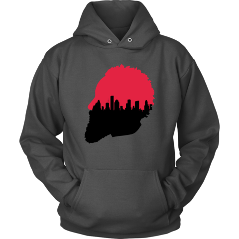 480x480 Harden Silhouette Houston Skyline Hoodie Amp Sweatshirt Tee Wise