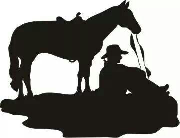 360x276 Pin By Veronica Scott On Cowboy Silhouette, Cricut