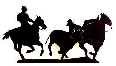 379x217 Dj Classic's Silhouette's For Western Home Decor