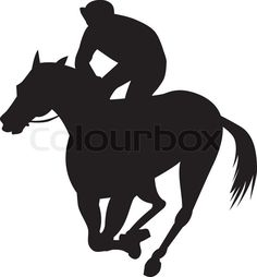 236x254 Racing Horse Silhouette Client Derby De Mayo