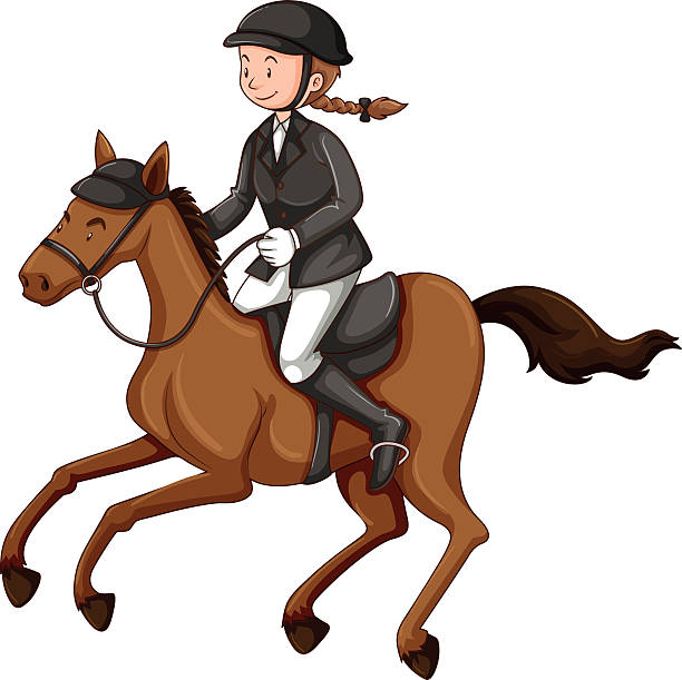 horse and rider silhouette at getdrawings com free for personal rh getdrawings com horse racing clip art free horse racing clip art images