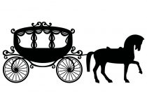 210x150 Clip Art Horse And Carriage Clip Art