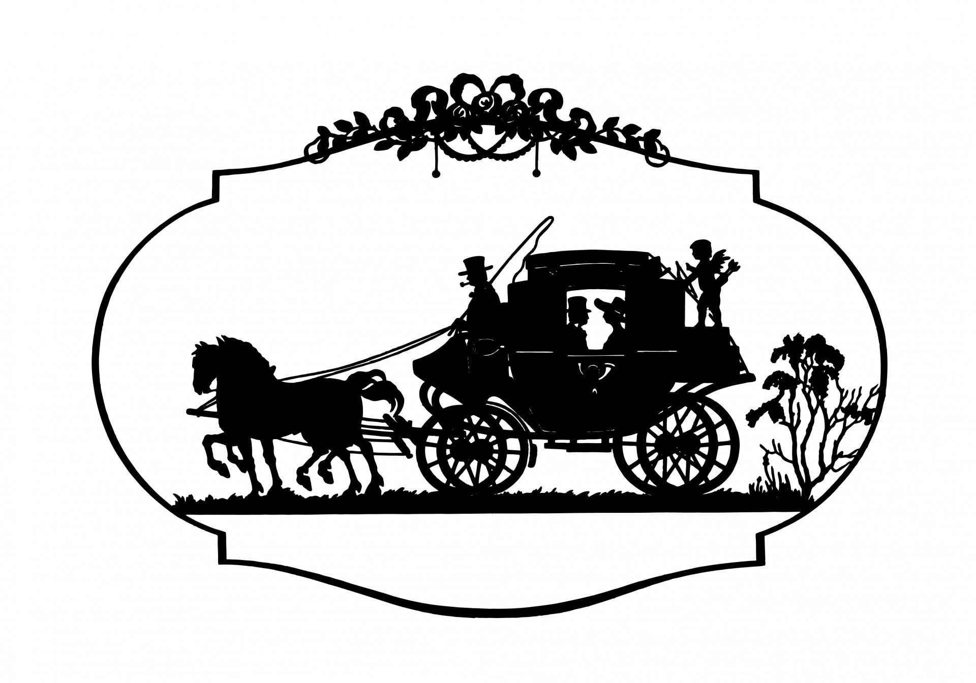1920x1344 Horse Amp Carriage Vintage Clipart Free Stock Photo Hd