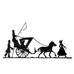 236x236 Horse And Carriage Svg Silhouettes, Cricut And Svg