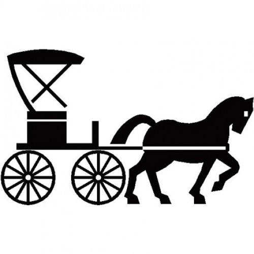 500x500 Carriage Silhouette