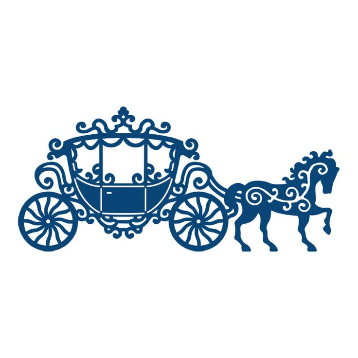 736x736 Carriage Clipart Silhouette