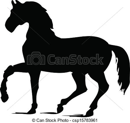 450x426 Horse Silhouette Clip Art Vector