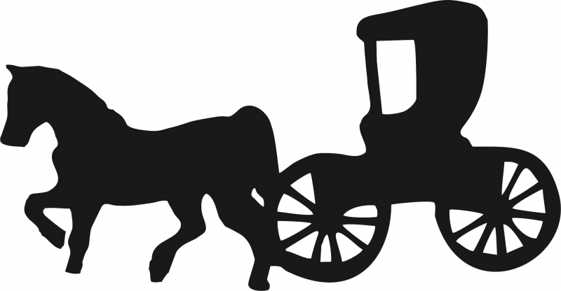 horse drawn carriage silhouette at getdrawings com free for rh getdrawings com horse and buggy clipart free free amish horse and buggy clipart