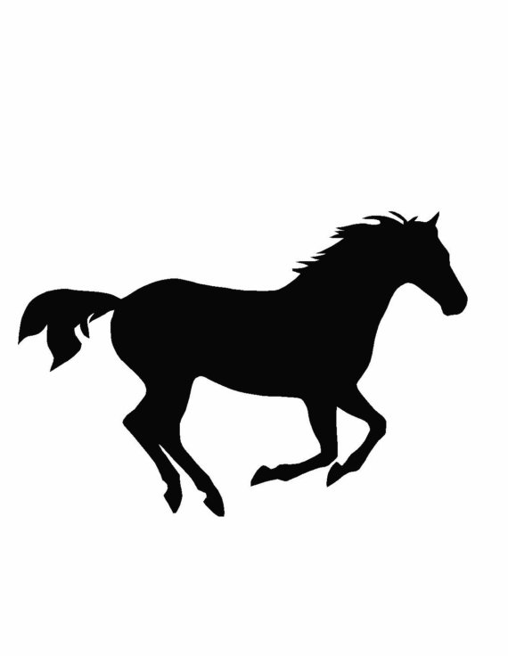 570x736 Horse Vinyl Wall Decal Sticker Wall Vinyl, Horse And Walls