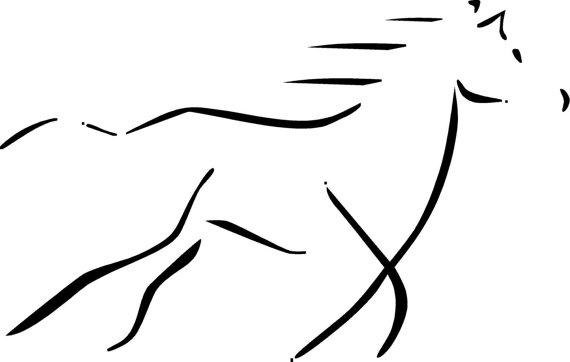 570x362 Horse Head Silhouette Xovain